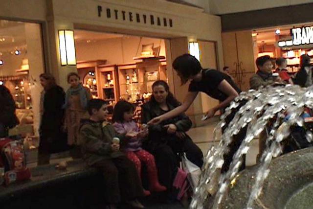 Make a wish! (2006) by Annie Onyi Cheung, video by Rick Saulnier