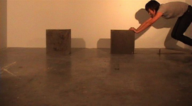 relative [concrete blocks] (2009) by Annie Onyi Cheung