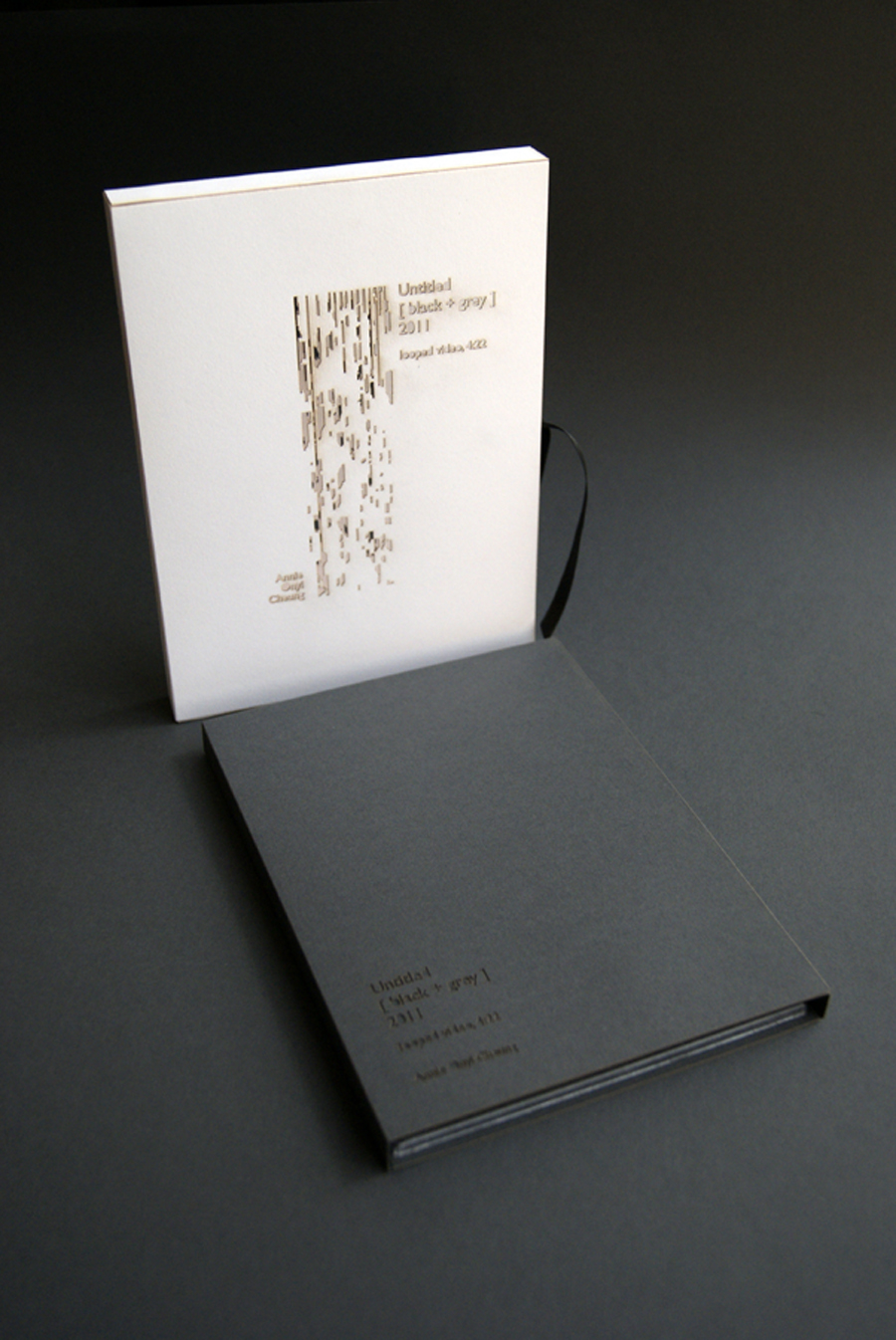 Untitled [black + grey] (2011). by Annie Onyi Cheung