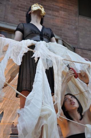 Breath Composition (2011), Subtle Technologies Festival Annie Onyi Cheung Risa Kusumoto