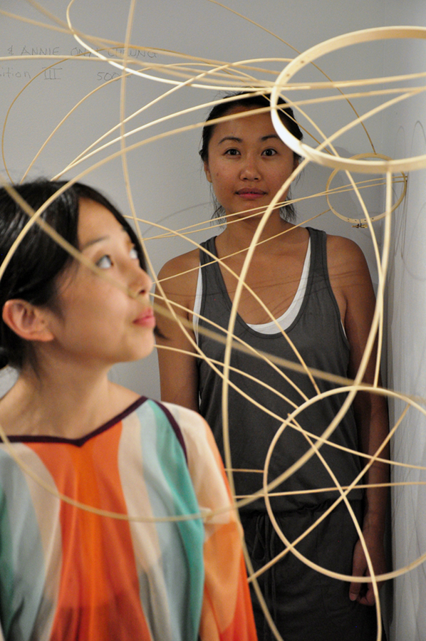 Breath Composition III (2011), by Risa Kusumoto and Annie Onyi Cheung