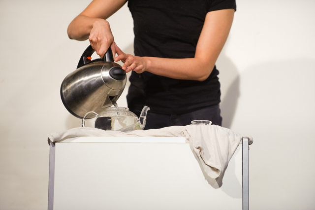 Mourning  Tea (2011) performance by Annie Onyi Cheung