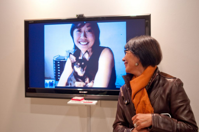 now.liminal (2010), by Annie Onyi Cheung, photo by David Reyes