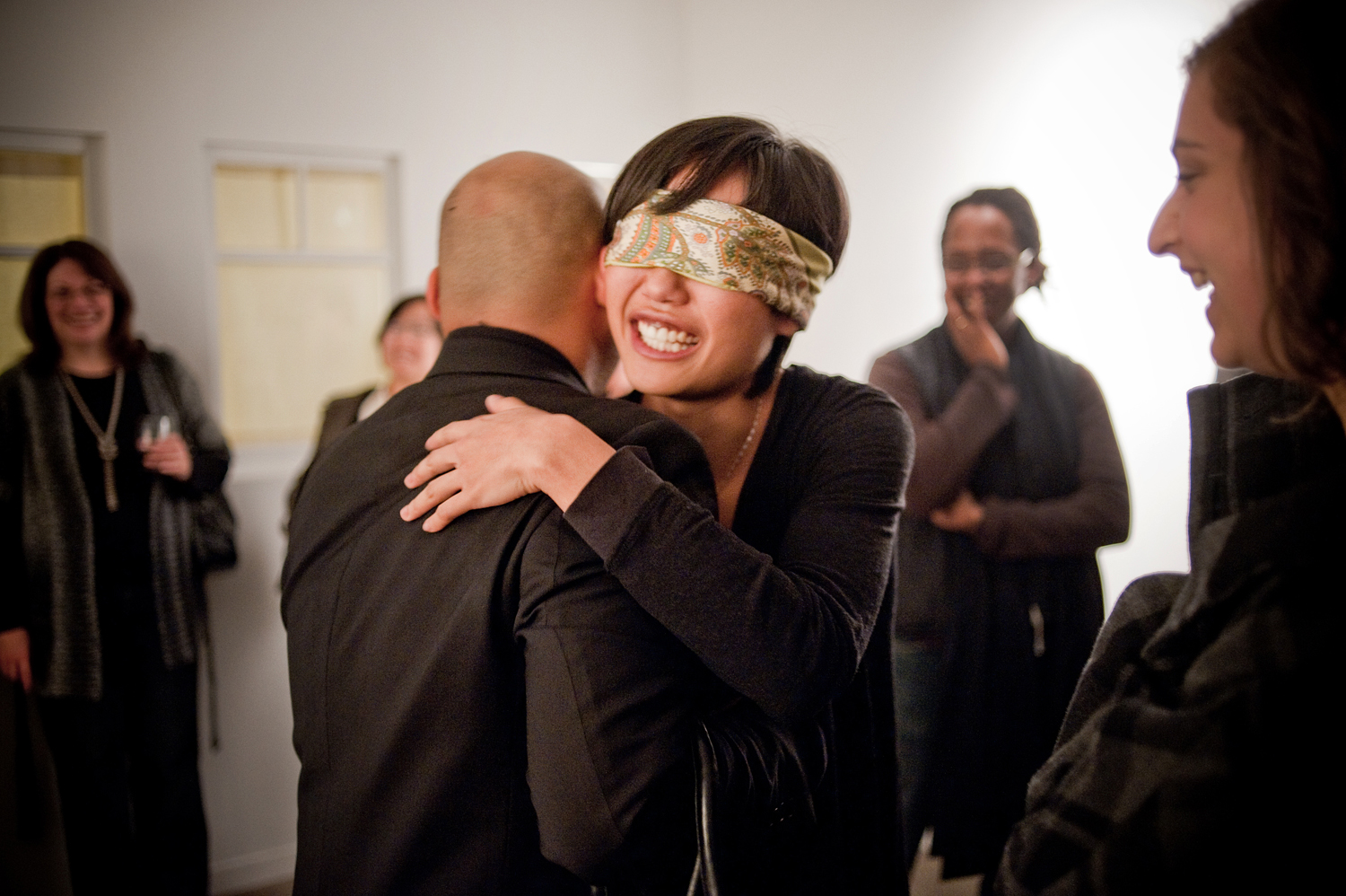 Meeting my mother (2009) by Annie Onyi Cheung, photo by David Reyes