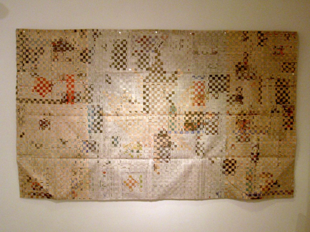 Finational [Canadian Flag] (2008) by Annie Onyi Cheung