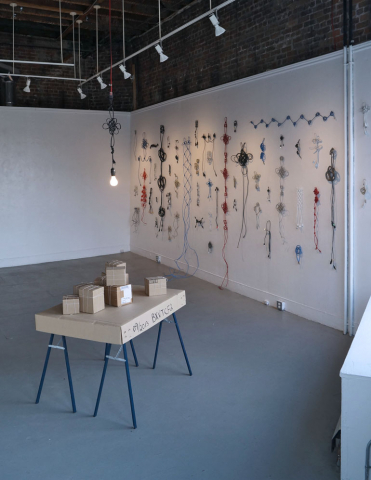 home away (2014 install view), Annie Onyi Cheung